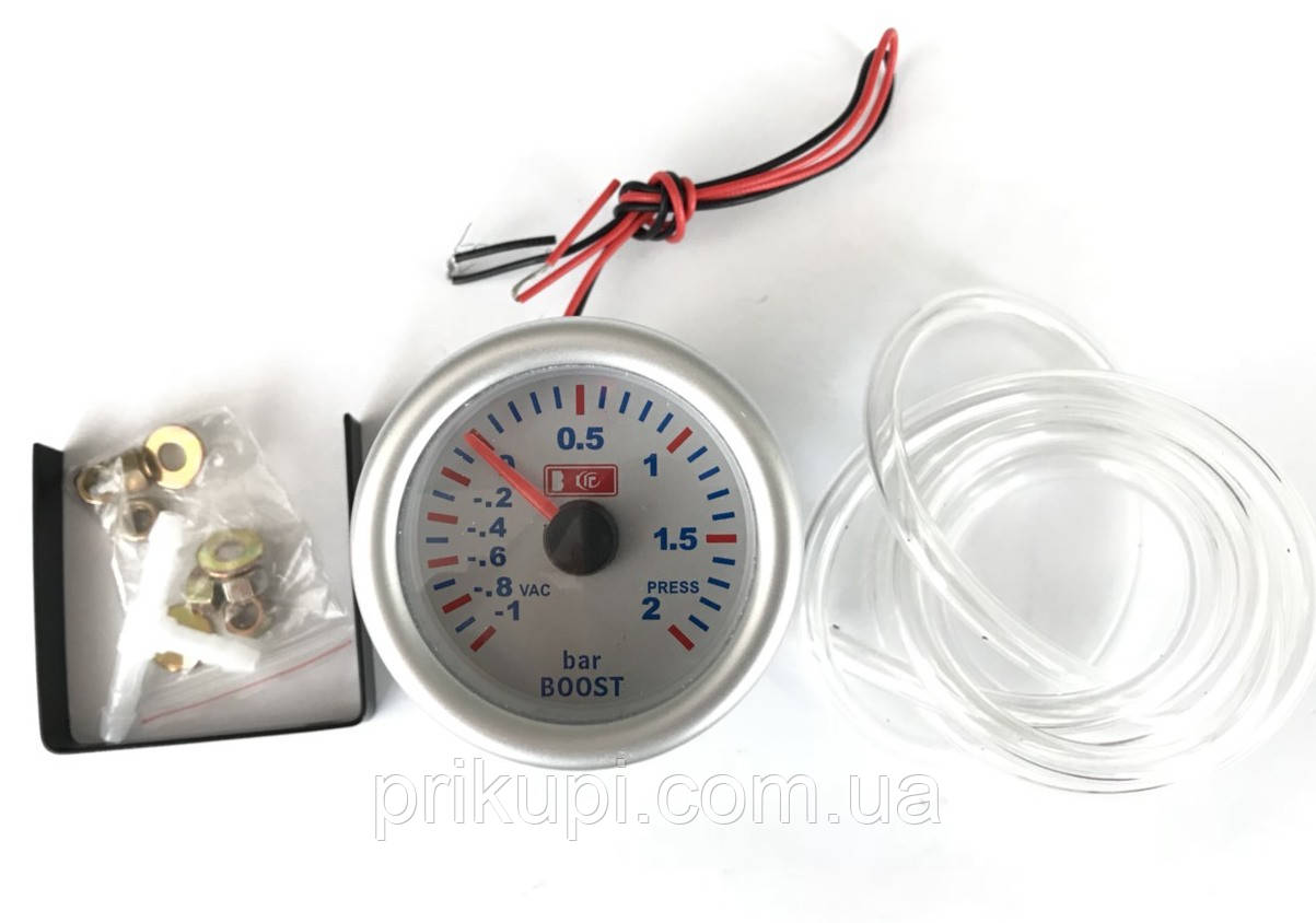 Датчик тиску турбіни LED 7707-3 LED boost, d52мм (буст датчик)