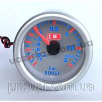 Датчик давления турбины LED 7707-3 LED boost, d52мм (буст датчик), фото 3