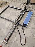 Лазерний верстат з ЧПУ, різак, гравер 100 Вт, поле 1550*800мм. СО2 100W, фото 6