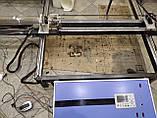 Лазерний верстат з ЧПУ, різак, гравер 100 Вт, поле 1550*800мм. СО2 100W, фото 7