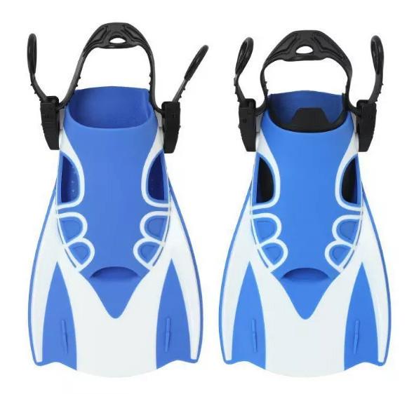 Спортивные короткие ласты для плавания RIAS AquaSpeed М Blue (np2_00153)