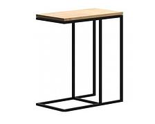 Приставной столик в стиле LOFT Черный (NS-1504)