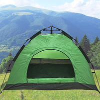 Палатка автомат 6 местная 2.3 х 2.3 метра туристическая самораскладывающаяся