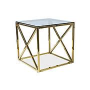 Кофейный журнальный столик  в стиле LOFT Черный (NS-705)