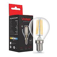 Светодиодная филаментная лампа Vestum G45 Е14 5Вт 220V 4100К 1-VS-2229