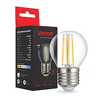 Светодиодная филаментная лампа Vestum G45 Е27 4Вт 220V 3000К 1-VS-2206
