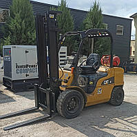 Газовий вилочний навантажувач 2.5 тонни Caterpillar GP30N б/у, фото 1
