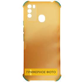 TPU чехол Ease Glossy Buttons Full Camera для TECNO Spark 6 Go Помаранчевий