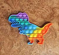 Pop It Антистресс Simple dimple Поп ит детская игрушка динозавр