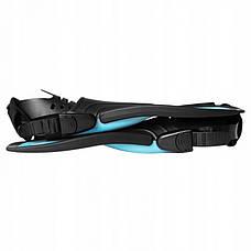 Ласти SportVida SV-DN0007JR-M Size 34-38 Black/Blue, фото 3