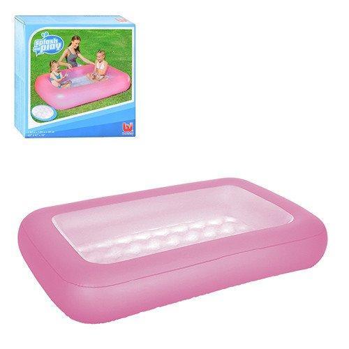 Детский надувной бассейн Bestway 51115 прямоугольный Розовый