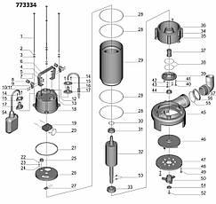Каналізаційний Насос 1.8 кВт Hmax 10м Qmax 400л/хв (з ножем) AQUATICA (773334), фото 2