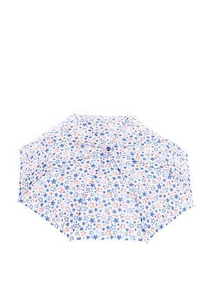 Зонт-полуавтомат Baldinini Белый в звездах (566), фото 2