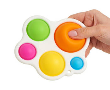 Сенсорная игрушка Pop It Simple Dimple 5 пупырок