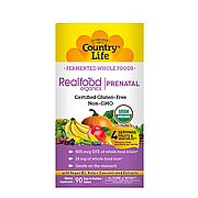 Органические Мультивитамины для Беременных, Prenatal Daily Nutrition, Country Life, 90 таблеток