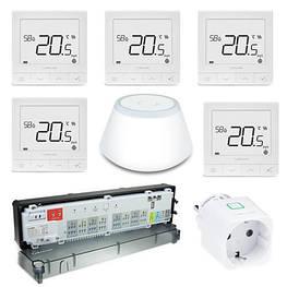 Комплект управления теплым полом на пять зон Smart UFH Set