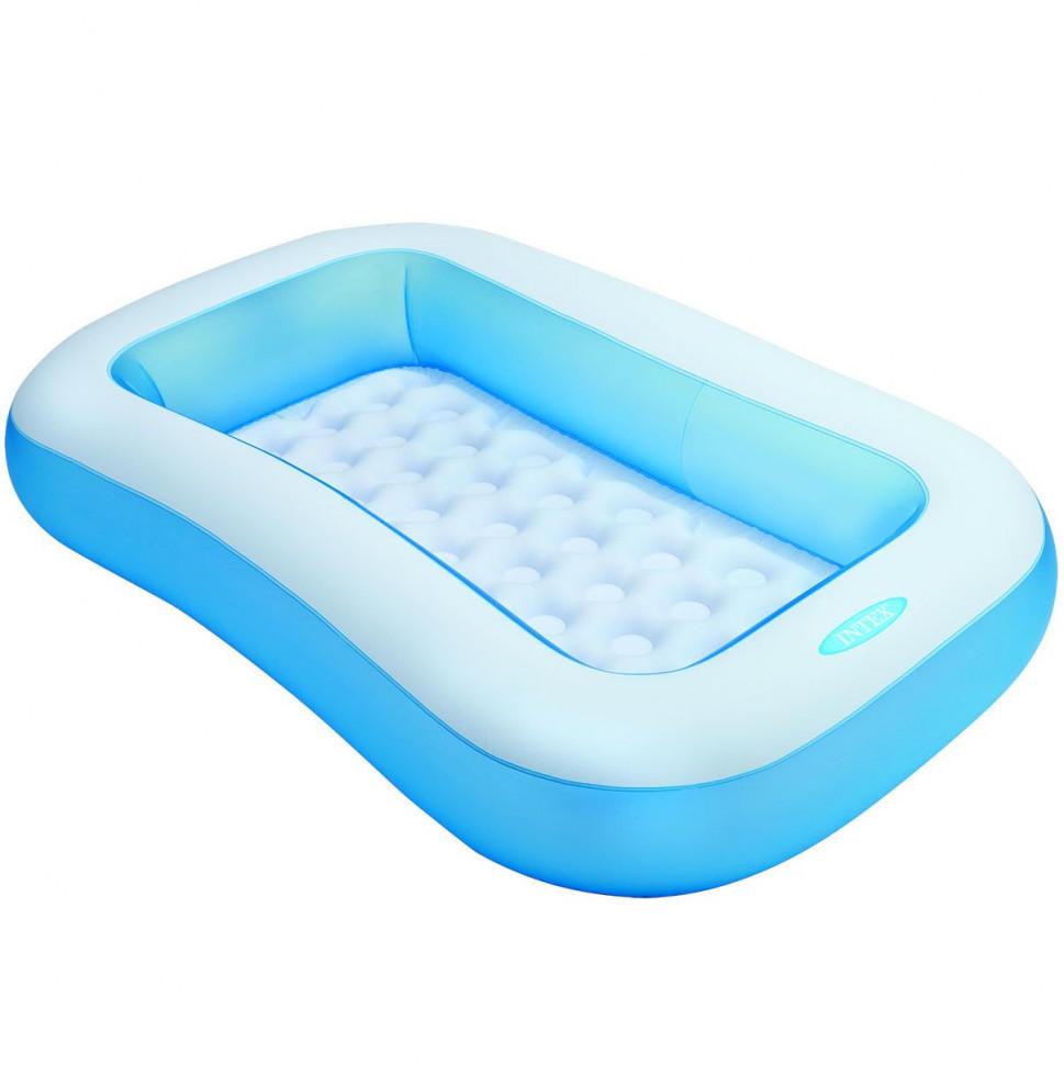 Детский бассейн Ванночка Голубой (57403)