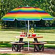 Пляжний парасольку з регульованою висотою та нахилом Springos 180 см BU0009, фото 5