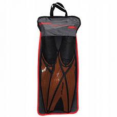 Ласты SportVida SV-DN0006-S Size 38-39 Black/Orange, фото 3