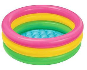 Дитячий надувний басейн Intex 57107 Світанок, фото 2