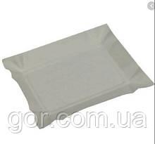 Тарілки одноразові паперові 130х190х0,3 прямокутна (100 шт)