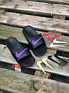 Мужские тапочки Nike Black Logo Multicolor, фото 2