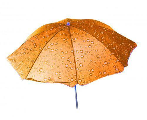 Зонт пляжний Toysi Крапельки Помаранчевий (TOY-106615), фото 2