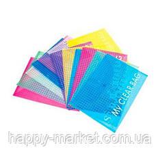 Папка-конверт А5 My CLEAR (дешевая клетка ) 20шт