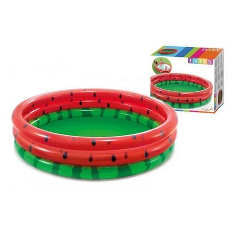 Бассйен надувний Intex 58448 Watermelon (LI10055), фото 2