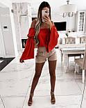 Блуза женская летняя с объемными рукавами, фото 6