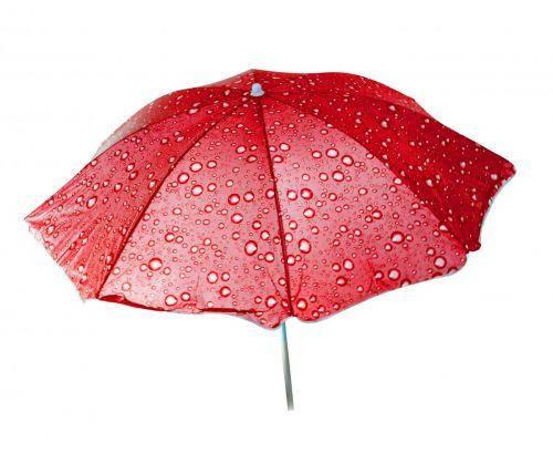Зонт пляжный Toysi Капельки Красный (TOY-106617), фото 2