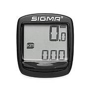 Велокомп'ютер Sigma Sport Base 1200 Black-Red (SD01950)
