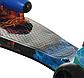 Дитячий Турбо самокат РАКЕТА з димом і музикою Вогонь Вода, триколісний самокат з турбінами і підсвічуванням, фото 3