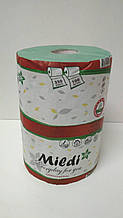 "Рушник для туалету Каховинка ""Mildi"" 215*160/45 (1 шар) PREMIUM зелене (1 шт)"