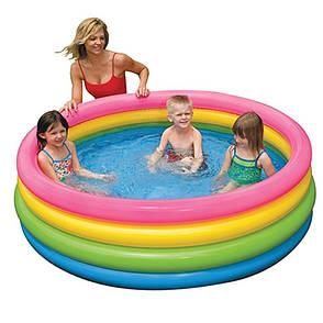 Бассейн детский надувной Intex 56441 168 x 41 см Разноцветный (001226), фото 2