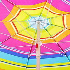 Пляжний парасольку з регульованою висотою Springos 160 см BU0005, фото 2