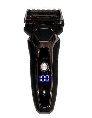 Електробритва Gemei GM-500 Чорна (300879), фото 2