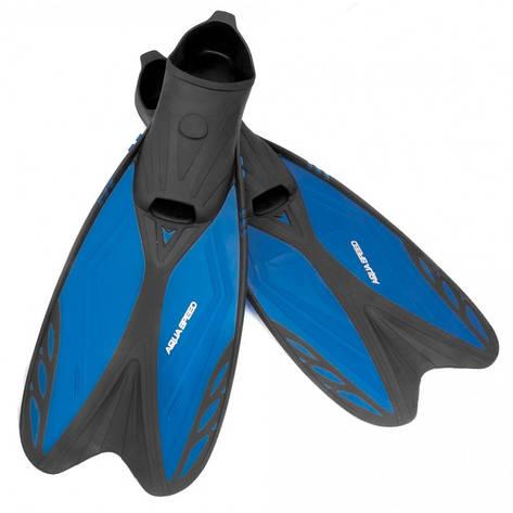 Ласти дитячі Aqua Speed Vapor 33-35 Чорно-синій (aqs188), фото 2
