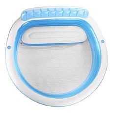 Басейн надувний Intex 57190 дитячий з надувним сидінням Блакитний (int_57190), фото 2