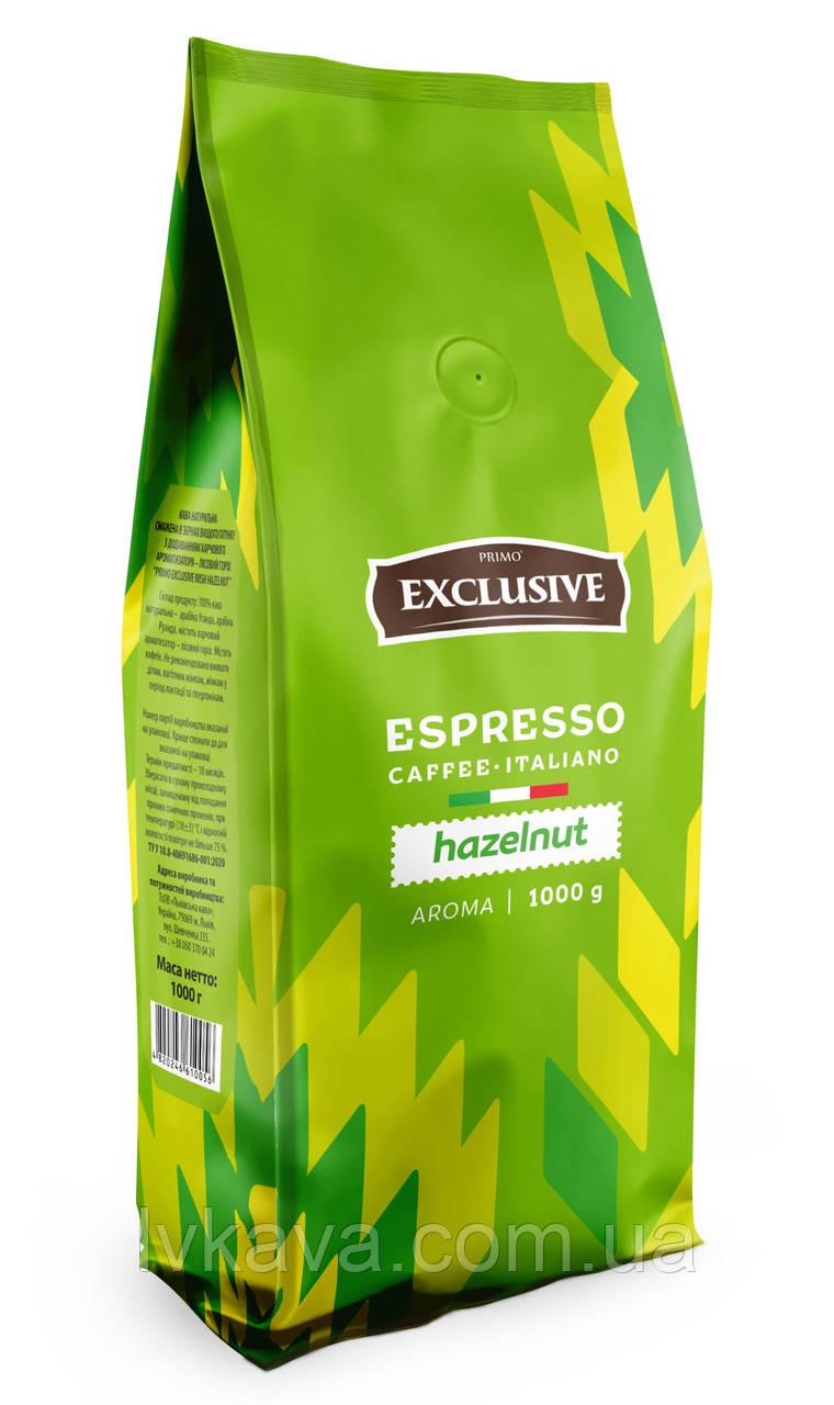 Кофе в зернах Primo Exclusive Haselnut  Віденська кава ,  1кг