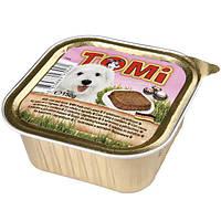 TOMi veal lamb 150 гр ТОМИ МЯСО ЯГНЕНОК консервы для собак, паштет