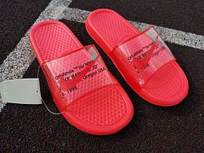 Жіночі тапочки Nike Red