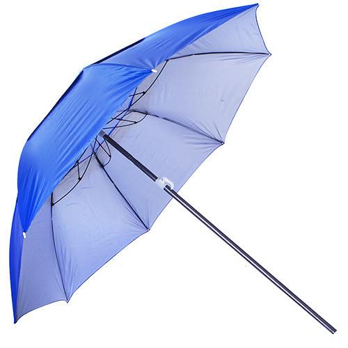 Зонт пляжный Stenson MH-2712 с треногой и колышками Синий (008560)