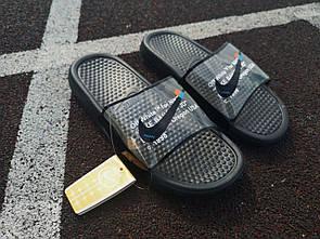 Жіночі тапочки Nike Black