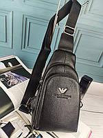 Мужская сумка слинг Giorgio Armani Армани