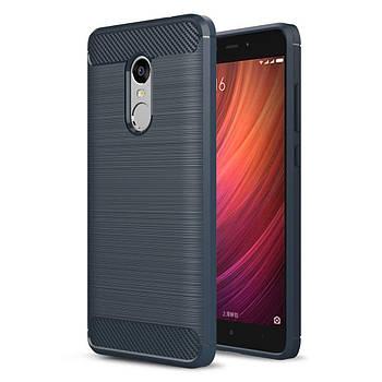 TPU чехол Slim Series для Xiaomi Redmi Note 4X / Note 4 (Snapdragon) Синий