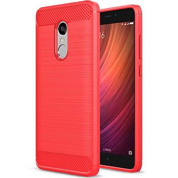 TPU чехол Slim Series для Xiaomi Redmi Note 4X / Note 4 (Snapdragon) Красный