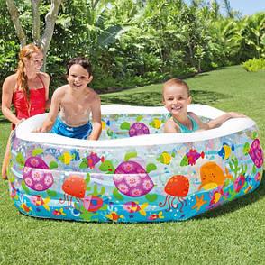 Надувной бассейн детский Intex 56493 191 х 178 х 61 см Океанский риф (56493_int), фото 2