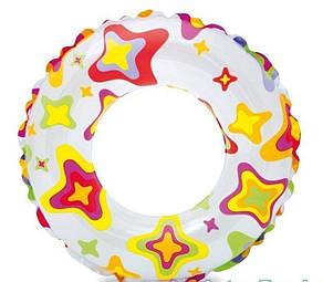 Дитячий надувний басейн Intex з набором «Зірки» 122х25 см (59460-2), фото 2