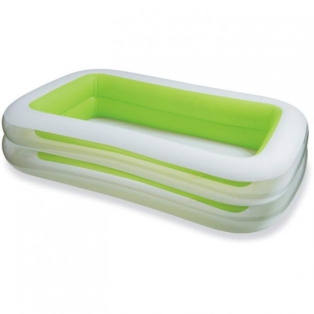 Надувной бассейн Intex 56483 Family Зеленый (56483)